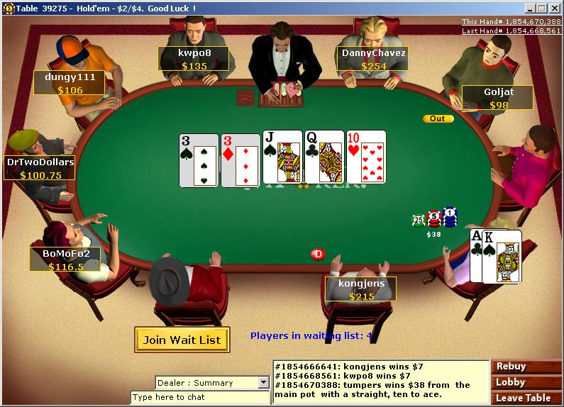 Online-poker-tournament